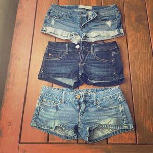 Brand Name Jean Shorts